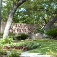 Rental info for Oak Springs
