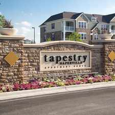 Rental info for Tapestry Naperville in the Aurora area