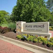 Rental info for Maple Springs Apartment Homes
