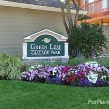 Rental info for Green Leaf Cascade Park