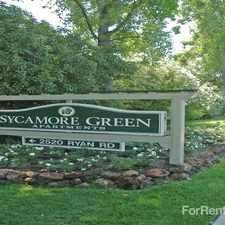 Rental info for Sycamore Green