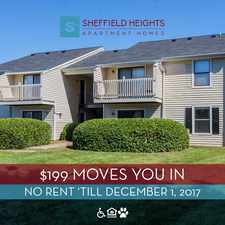 Rental info for Sheffield Heights Apartment Homes