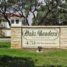 Rental info for Oaks of Bandera