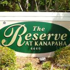 Rental info for Reserve at Kanapaha