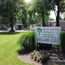 Rental info for Kernan Gardens in the Baltimore area