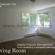 Rental info for 2927 Cascade Trail