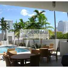 Rental info for 411 Northwest 1st Avenue in the Fort Lauderdale area