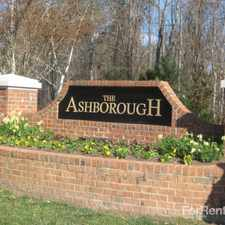 Rental info for The Ashborough