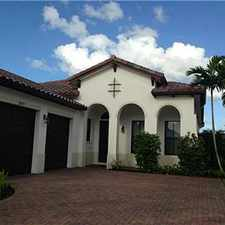 Rental info for CHARMING 4/3 HOME IN COOPER CITY in the Pembroke Pines area