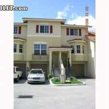 Rental info for $2250 3 bedroom Townhouse in Miami Shores in the Miami area