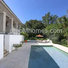 Rental info for Live the Island Life-Style! Four Bedroom Estate on Exclusive Casey Key