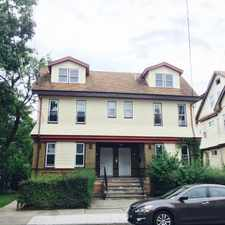 Rental info for No Fee-- Fully Renovated 3 Bedrooms , 1 Baths,Central Heating,Hardwood Floors +Parking $1400. Quiet Block Close to Transportation, Hospital ,School and Major Highway in the Weequahic area