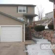 Rental info for $2400 2 bedroom Townhouse in Colorado Springs Norwood