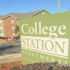 Rental info for College Station
