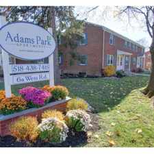 Rental info for Adams Park Apartments