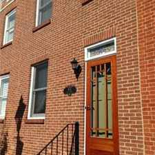 Rental info for FELLS POINT - RIGHT WHERE THE ACTION IS! - in the Baltimore area