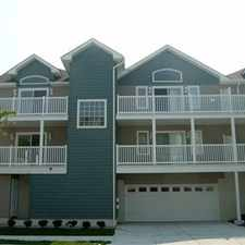 Rental info for Wildwood, NJ townhouse