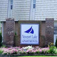 Rental info for Newport Lake Apartments