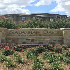 Rental info for Savannah Oaks in the San Antonio area