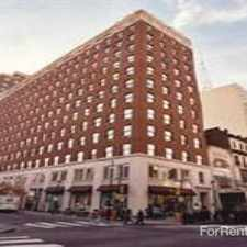 Rental info for 1700 Walnut Street in the Philadelphia area