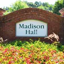 Rental info for Madison Hall