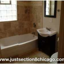 Rental info for *HAMLIN/ADAMS SECTION 8 UNIT B3BDR 1BT $NO SECURITY$ SEC 8* in the East Garfield Park area