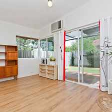 Rental info for Light and bright bedsit! .....Enter from laneway off Federal Street.