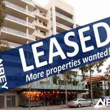 Rental info for Luxury Living in the West End!! in the West Perth area