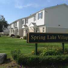 Rental info for Spring Lake Village Apartments