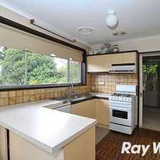 Rental info for Winter Warmer in the Wantirna area