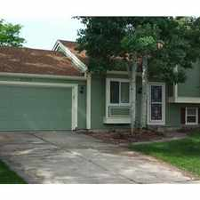 Rental info for Parksborough Home in the Aurora area