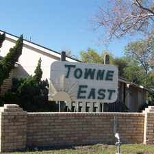 Rental info for Towne East Apartments