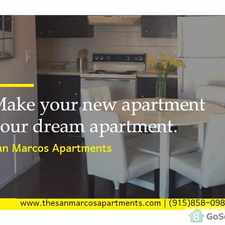 Rental info for FOR RENT 2 BEDROOM APARTMENT! in the El Paso area