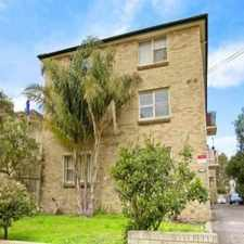 Rental info for SUNNY 2 BEDROOM UNIT in the Sydney area