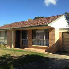 Rental info for NEAT & TIDY in the Macquarie Fields area