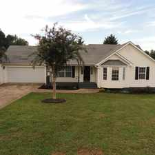 Rental info for 3bd 2ba home with special touches + separate storage building