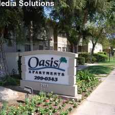 Rental info for Oasis Apartments in the 93612 area