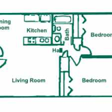 Rental info for We offer 1, 2, 3 and 4 bedroom apartments in a quiet community setting.