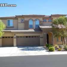Rental info for $5800 5 bedroom House in Southwest Las Vegas in the Enterprise area