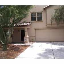 Rental info for BEAUTIFUL 4 BEDROOM + 3 BATHROOMS NEW HOME . in the Maricopa area
