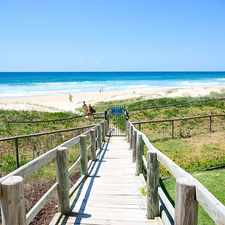Rental info for ABSOLUTE BEACHFRONT in the Gold Coast area
