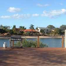 Rental info for WATERFRONT FAMILY HOME MERMAID WATERS in the Gold Coast area