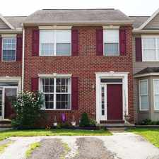 Rental info for Brick Front Colonial Style Townhome with 3 Bedrooms, 2.5 Baths, and Finished Lower Level! Fenced Backyard, Off Street Parking!