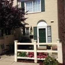 Rental info for Alexandria Townhome for Rent- September 2015 in the Alexandria area