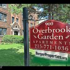 Rental info for Berger Properties in the Overbrook area