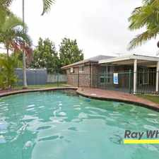 Rental info for UNDER APPLICATION Family Home with everything in the Capalaba area