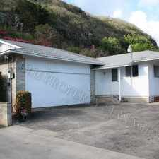 Rental info for Moanalua Valley