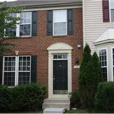 "Rental info for Amazing townhouse in ""Village of Dorchester"", MD in the Severn area"