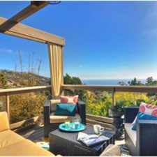 Rental info for Gorgeous fully furnished ocean view home (1355 TERRACE WAY) in the Laguna Beach area