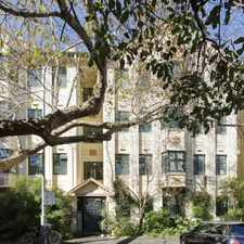 Rental info for Charming Art Deco in the Sydney area